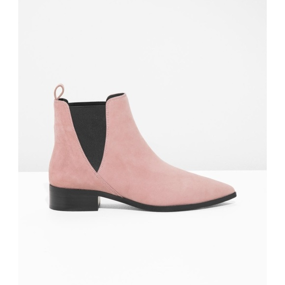 Shoes   Chelsea Boots Light Pink   Poshmark